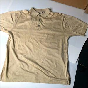 Ping Tan Mens Medium Polo Golf Shirt 100% Cotton